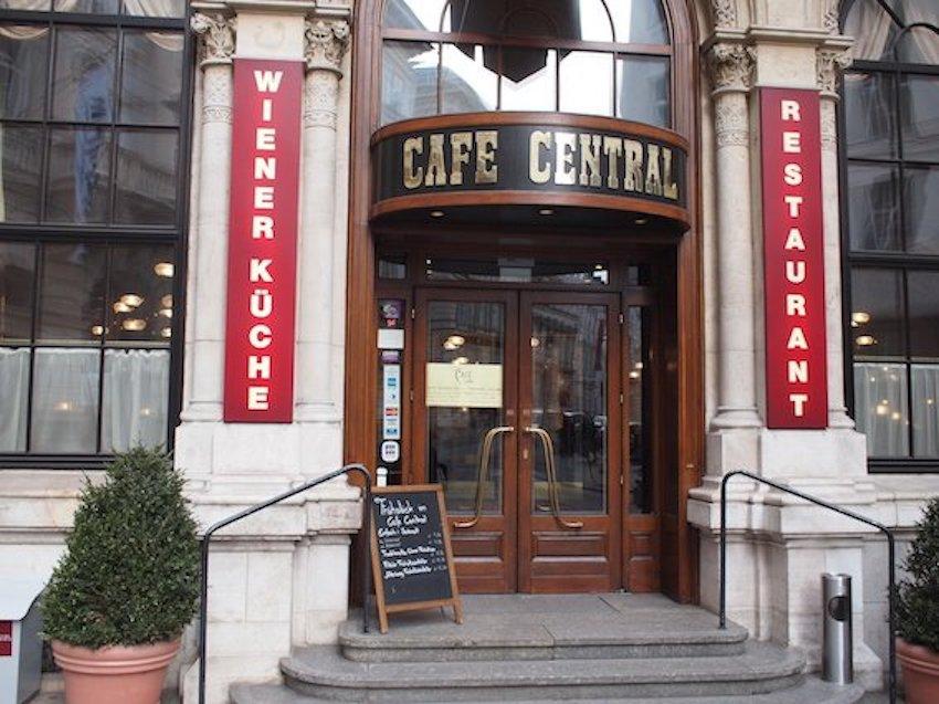 Cafe Central Wiedeń Smakowite Historie blog kulinarny