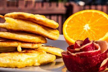 racuchy z jabłkami przepis smakowite historie blog kulinarny