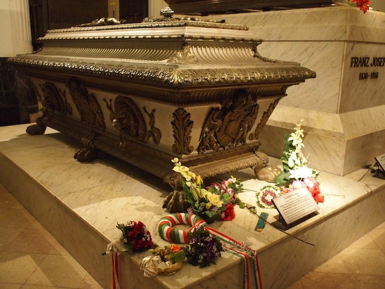 Sarkofag cesarzowej Sisi i Franciszka Józefa