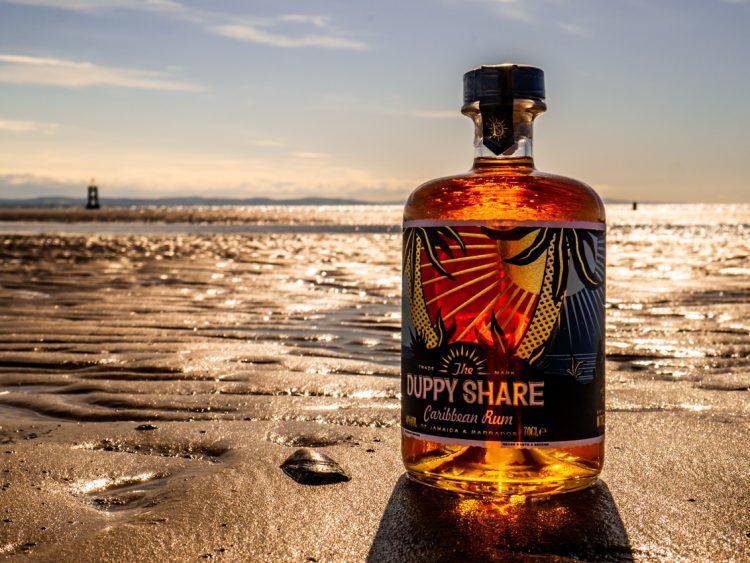 Karaibsku rum Duppy Share