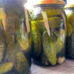 ogórki kiszone z przepisu babci – blog kulinarny smakowitehistorie.com