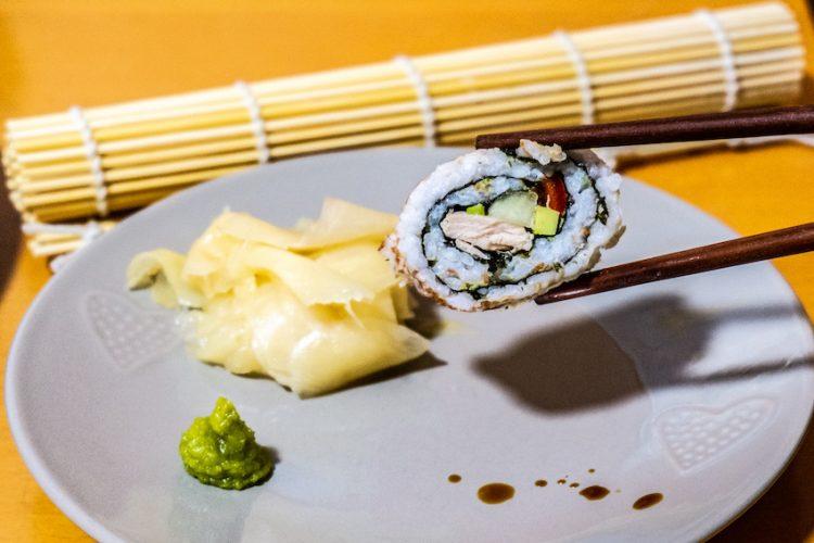 sushi california maki