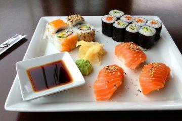 sushi na lunch w Krakowie